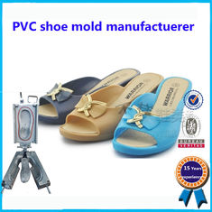 Steel PVC Shoe Upper Mould  Two Colors 30 - 49 Wide Size Range