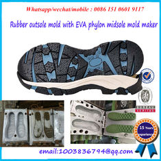 Comfortable Outsole Mold  Die Casting Single / Multi Cavities