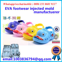 Aluminium / Steel EVA Mould Customized Design Pink Blue Yellow Available