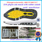 Rubber Dip PVC Shoe Molding Long Mold Life Compact Structure