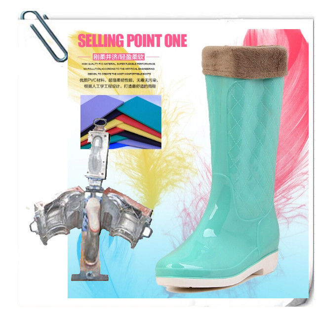 Sturdy Steel 	Boots Mold Customized Colorful 25 - 49 Size Range