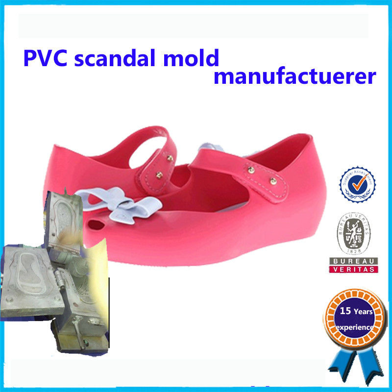 Comfortable Soft Plastic Shoe Molding Beautiful Appearance Footwear Mold supplier