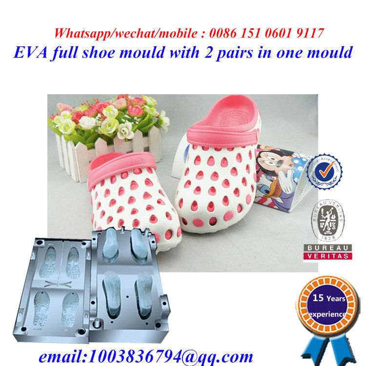 High Strength Flip Flop Mold Die Casting Two Pairs In One Mold supplier