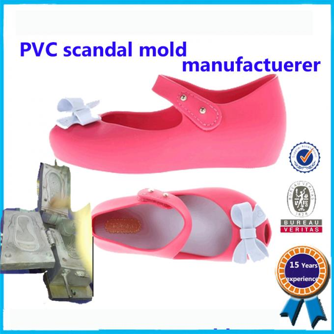 Comfortable Soft Plastic Shoe Molding Beautiful Appearance Footwear Mold 3