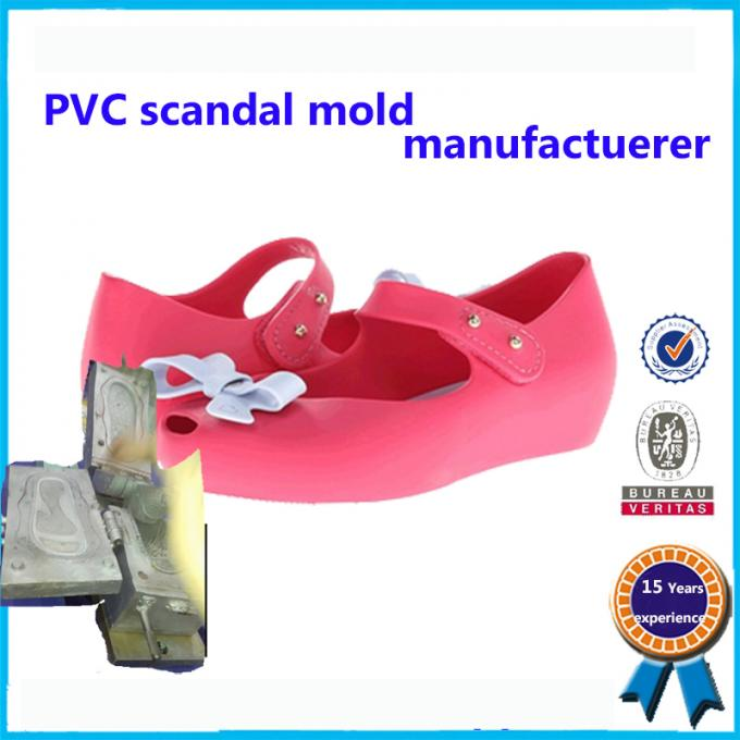 Comfortable Soft Plastic Shoe Molding Beautiful Appearance Footwear Mold 1