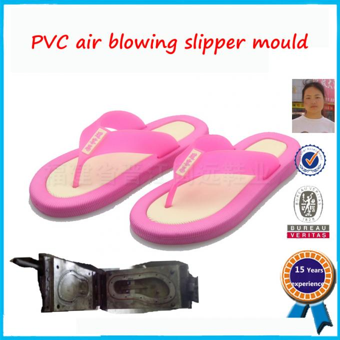 Plastic Injection PVC Shoe Mold High Strength Long Working Life 5