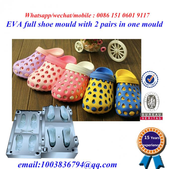 High Strength Flip Flop Mold Die Casting Two Pairs In One Mold 2
