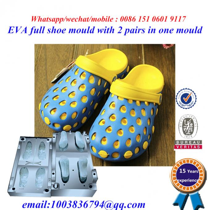 High Strength Flip Flop Mold Die Casting Two Pairs In One Mold 3