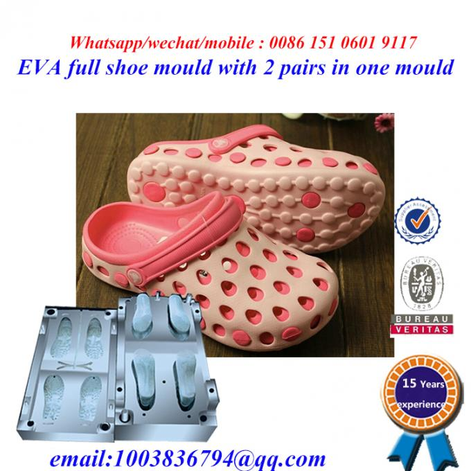 High Strength Flip Flop Mold Die Casting Two Pairs In One Mold 4